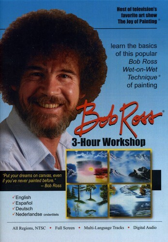 Bob Ross Joy Of Painting Series: 3 Hour Workshop