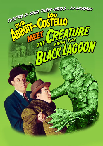 Abbott & Costello Meet The Creature From The Black