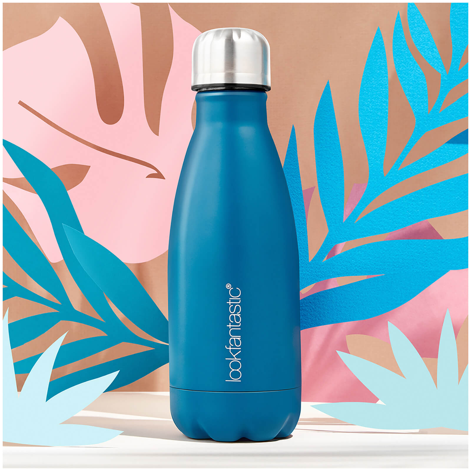 495db9fe8d42 lookfantastic Stainless Steel Water Bottle | Free Shipping | Lookfantastic