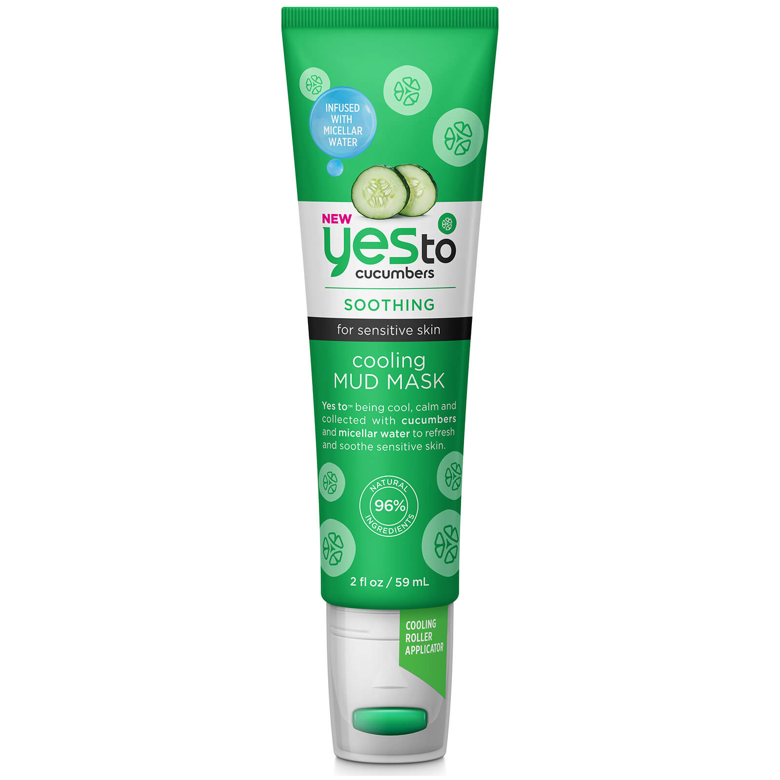 Cucumbers Cooling Hydrating Primer Stick by yes to #14