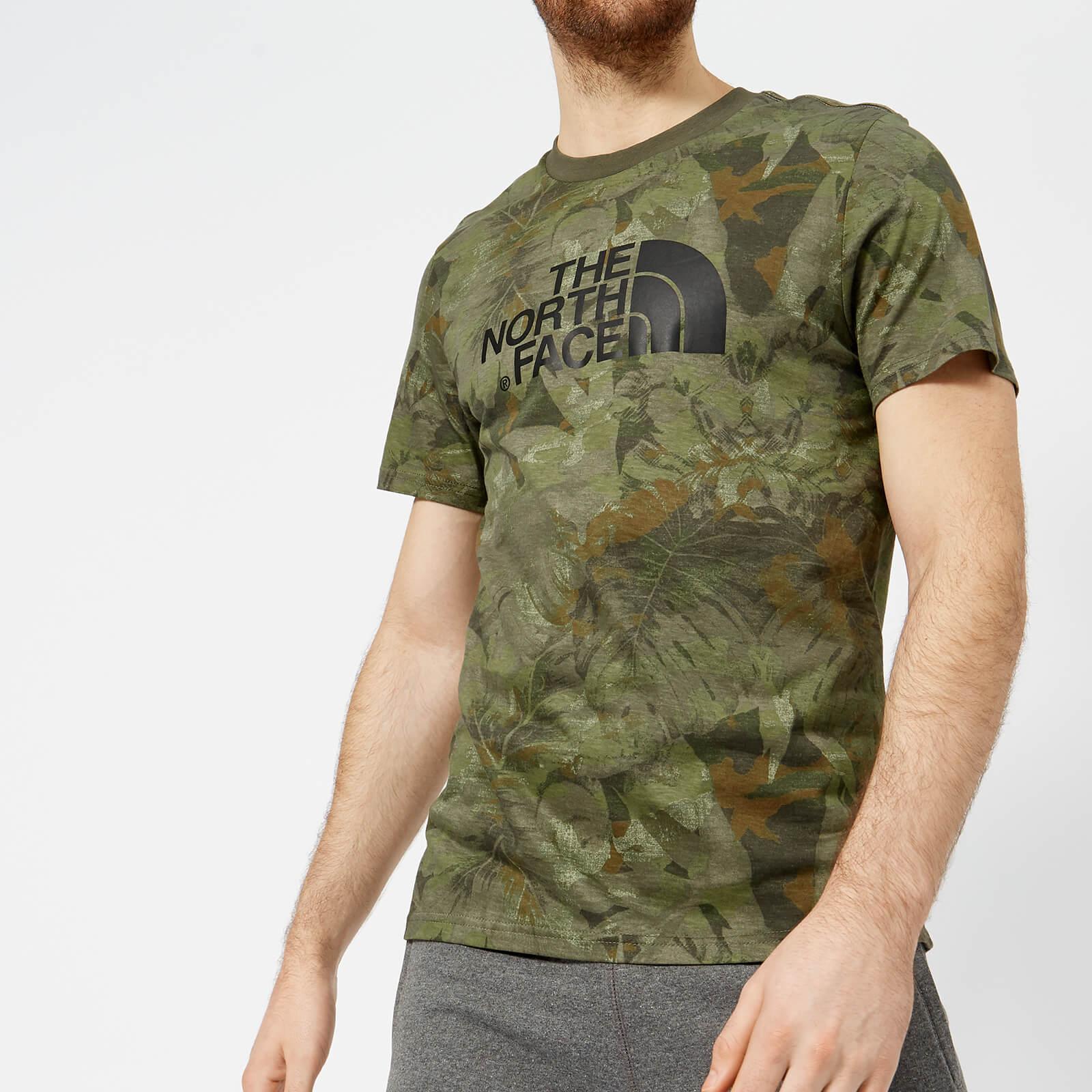 8c0beddd9 The North Face Men's Short Sleeve Easy T-Shirt - English Green Camo Print