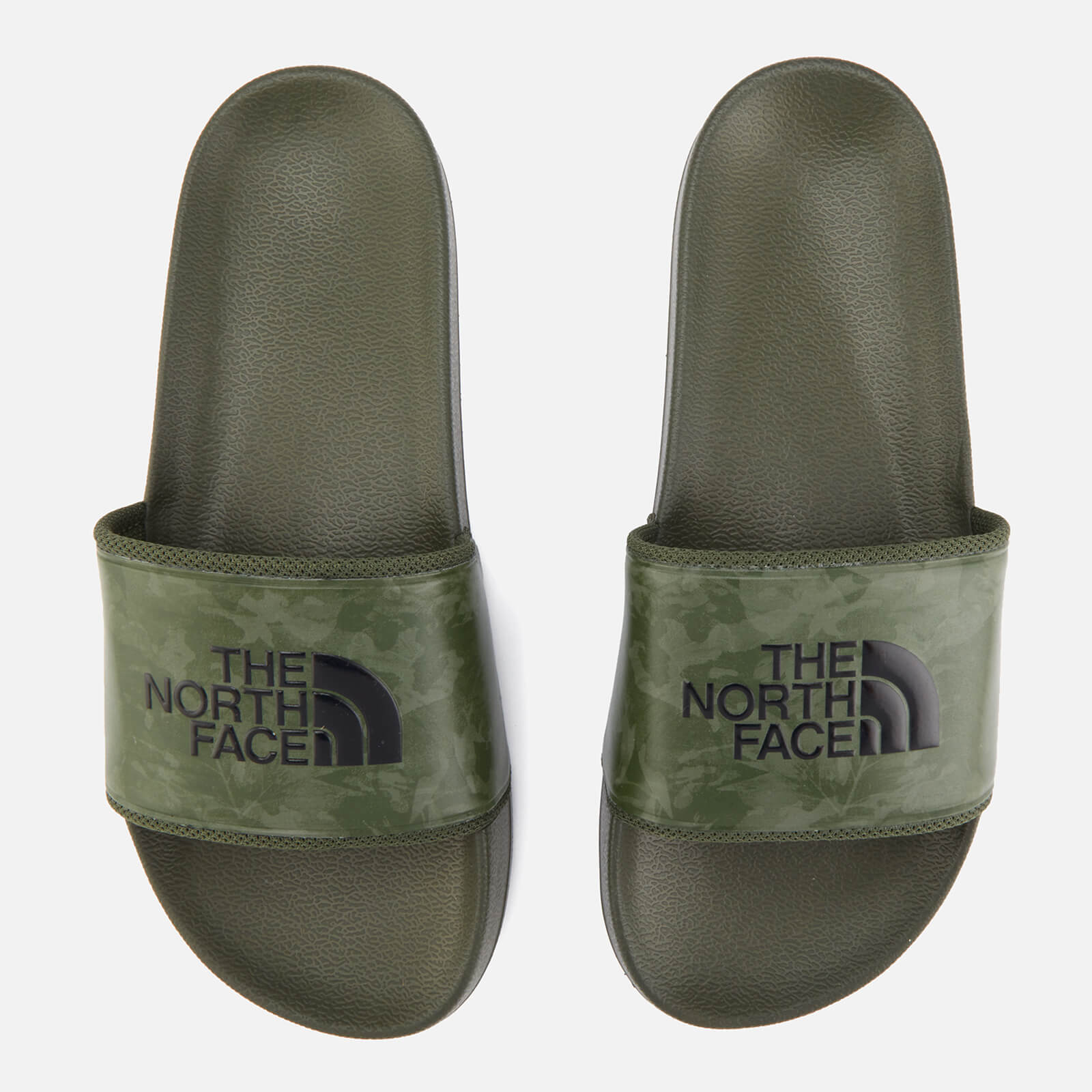 fc8679c96 The North Face Men's Base Camp II Slide Sandals - English Green Tropical  Camo/English Green