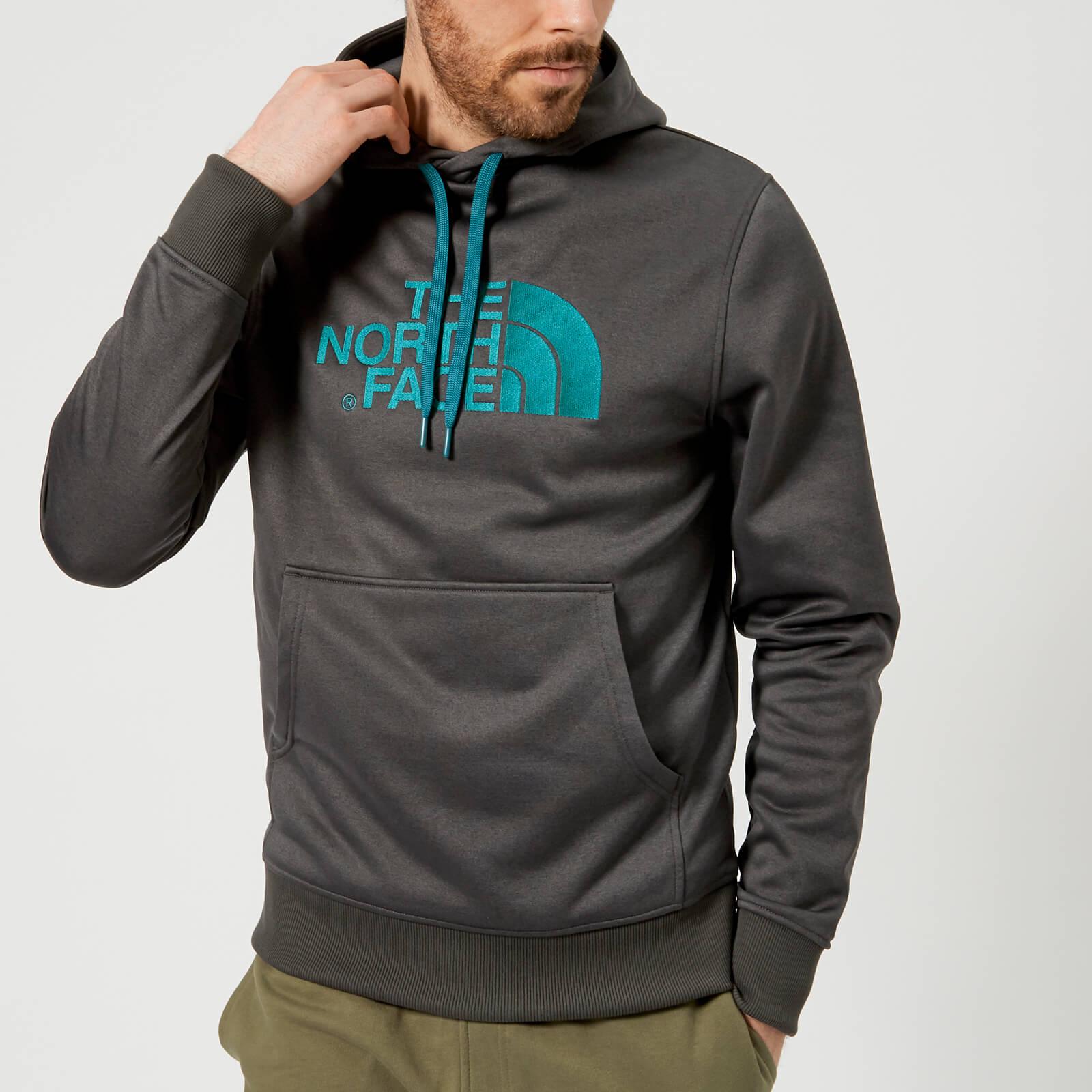d162a9d09763 The North Face Men s Mc Drew Peak Hoodie - Asphalt Grey Dark Heather Mens  Clothing