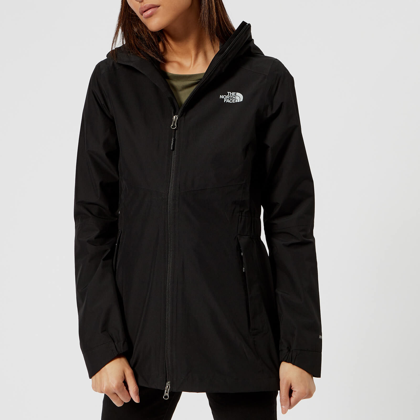 a0a4444db The North Face Women's Hikesteller Parka Shell Jacket - TNF Black