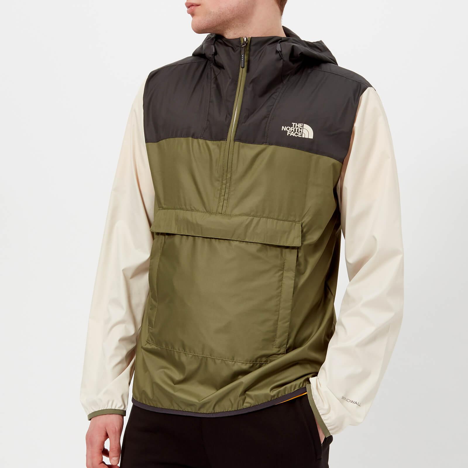 ddde302c3 The North Face Men's Fanorak Jacket - Four Leaf Clover Multi