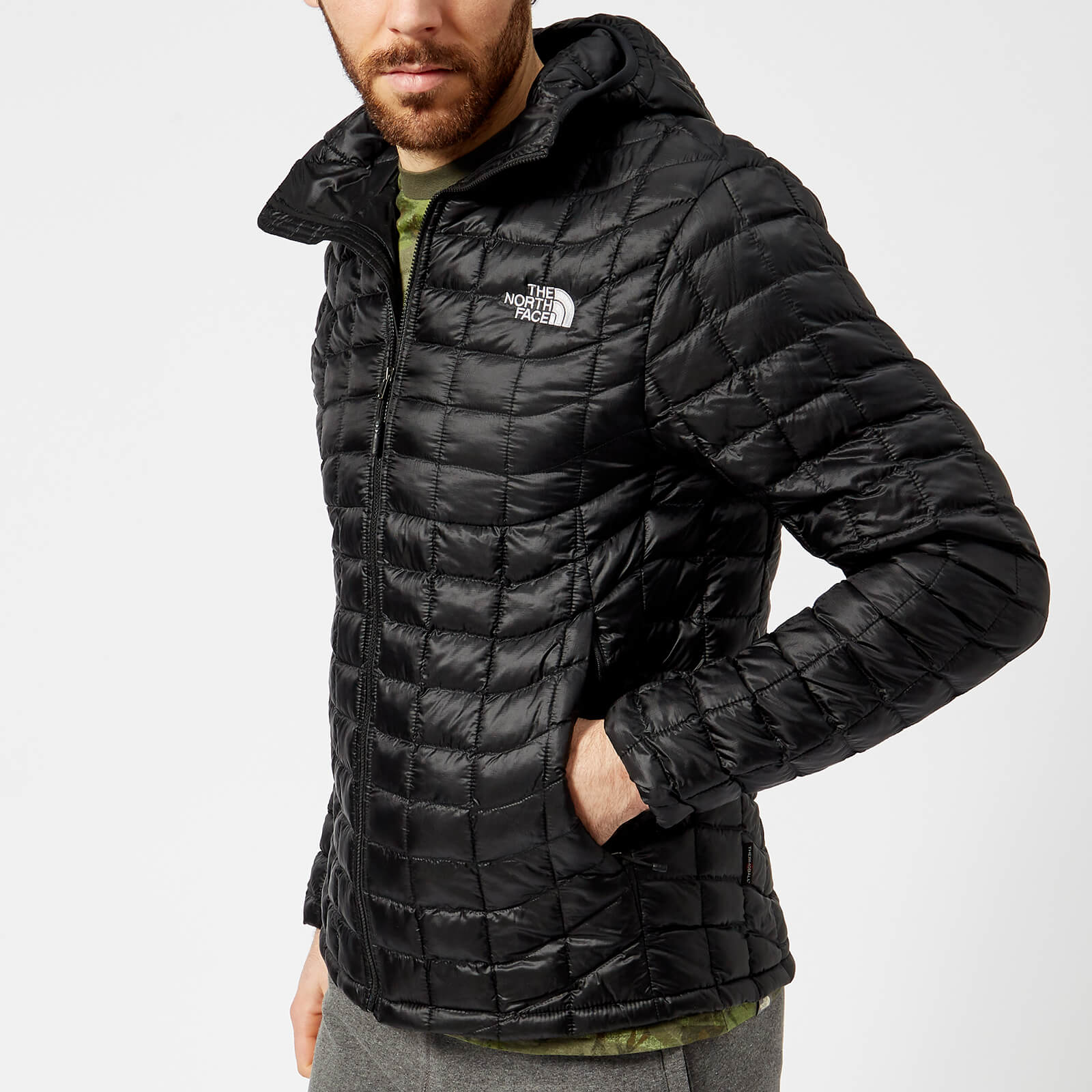 24bea2060db69 The North Face Men's Thermoball Hoodie Jacket - TNF Black Clothing ...