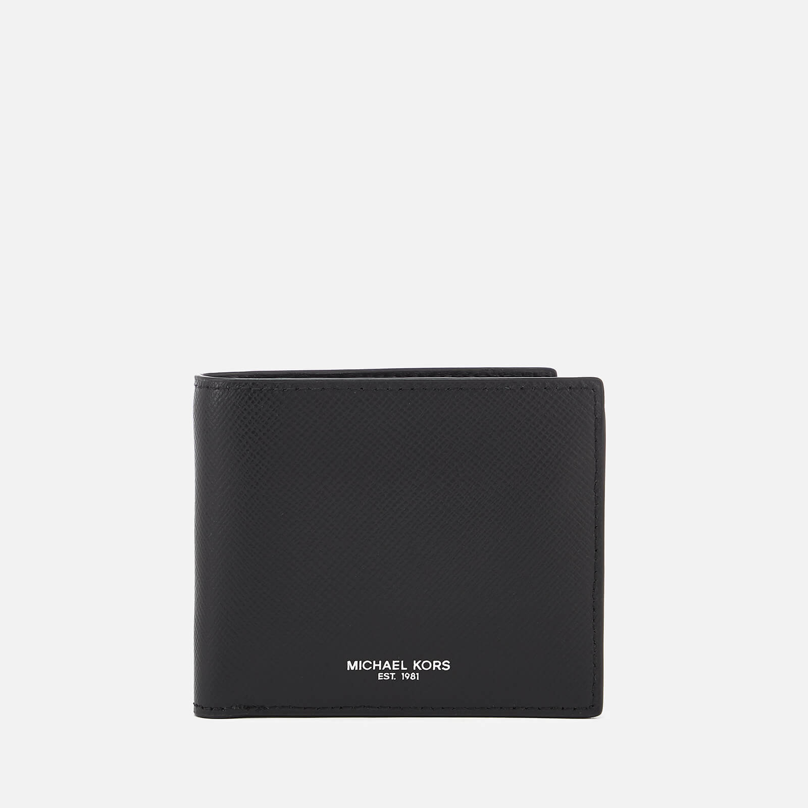 319169fdc2a0 Michael Kors Men s Harrison Billfold Wallet With Coin Pocket - Black Mens  Accessories