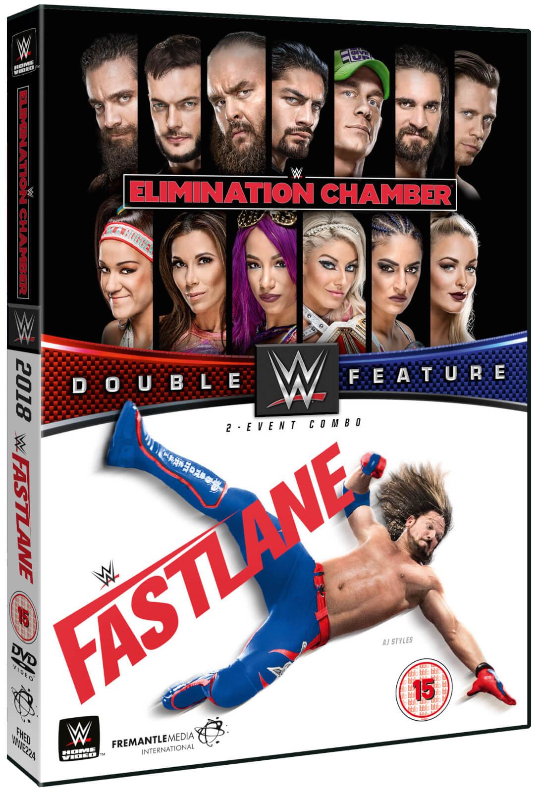 WWE: Elimination Chamber 2018 + Fastlane 2018 Double Feature