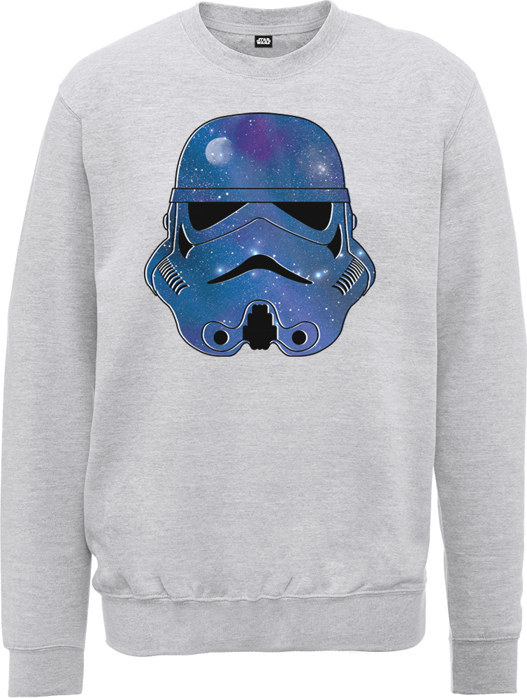 Star Wars Space Stormtrooper Sweatshirt - Grey