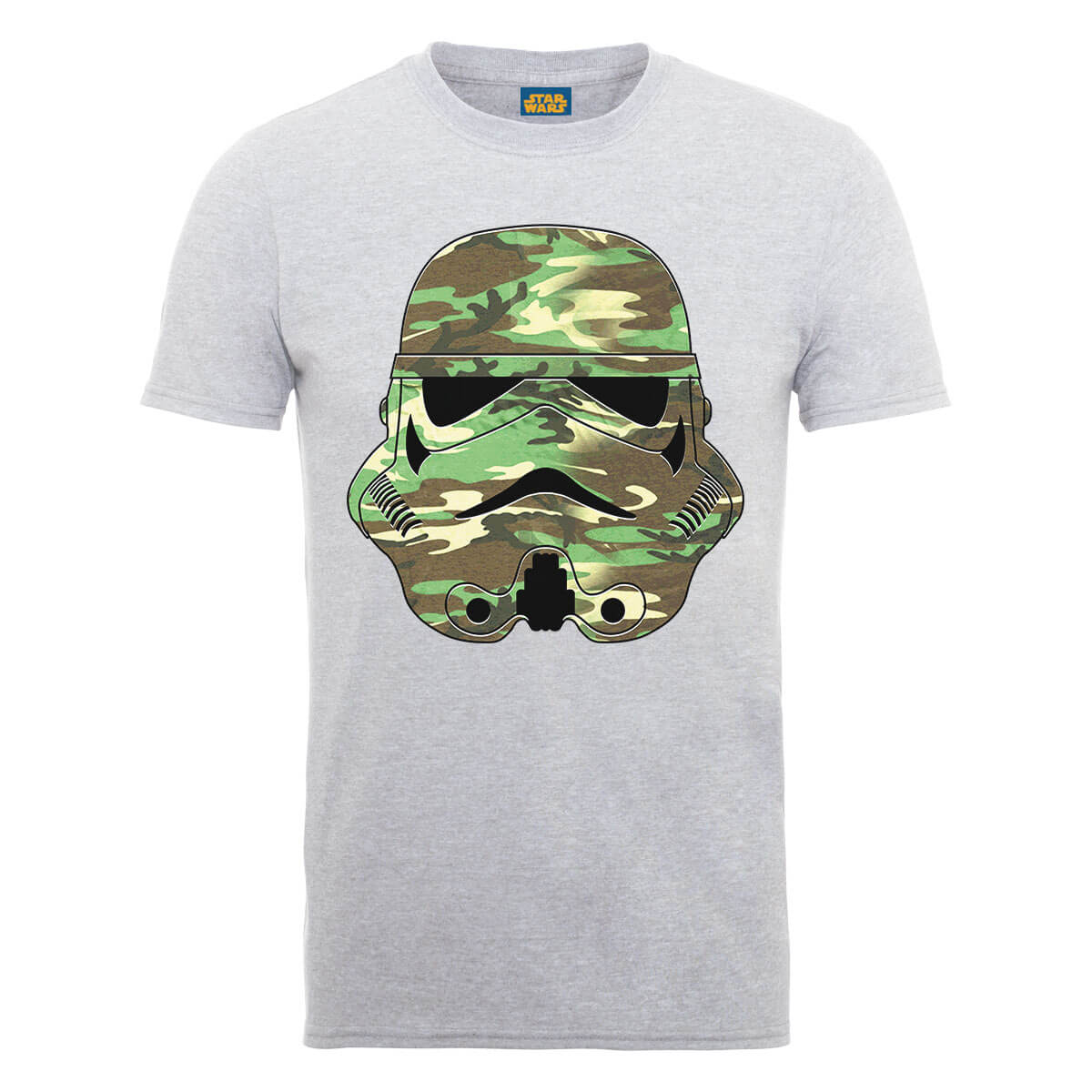 Star Wars Stormtrooper Camo T-Shirt - Grey