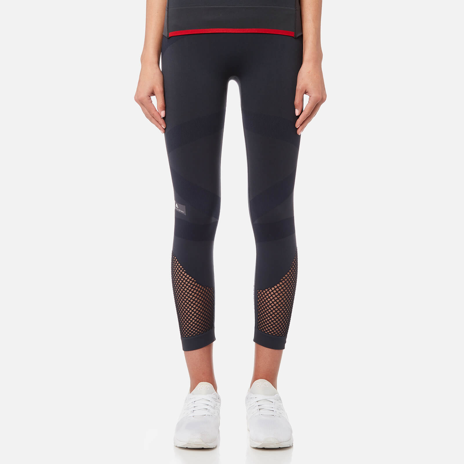 22346e39f45fe0 adidas by Stella McCartney Women's Train 3/4 Tights - Night Grey - Free UK  Delivery over £50
