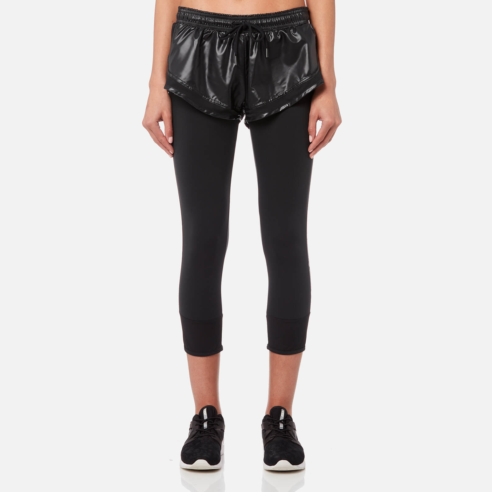 91cdcfb8915a adidas by Stella McCartney Women s Essential Short Over Tights - Black -  Free UK Delivery over £50