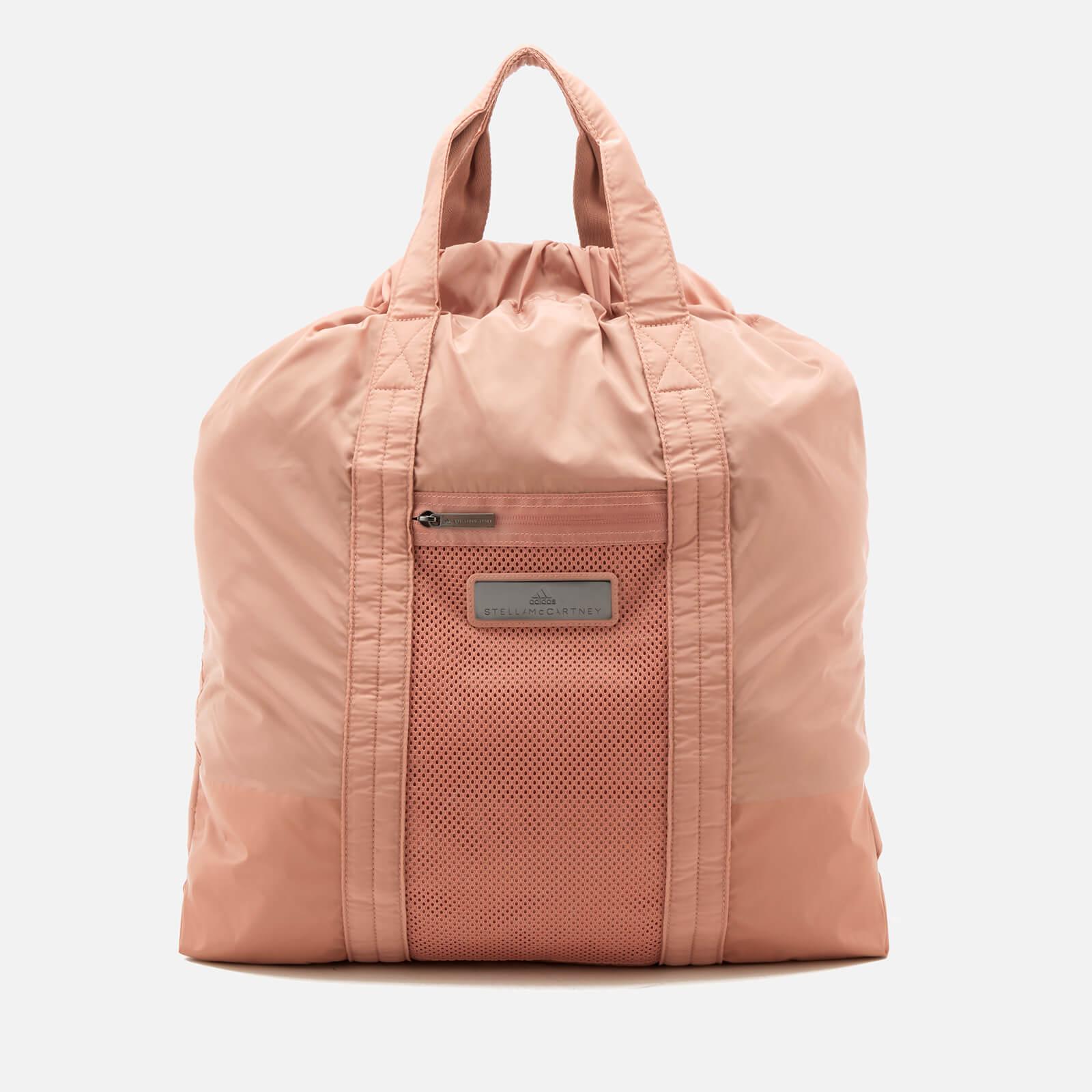 f6bc44e473 adidas by Stella McCartney Women s Gym Sack Bag - Cinnamon Blush Black Ice  Grey - Free UK Delivery over £50