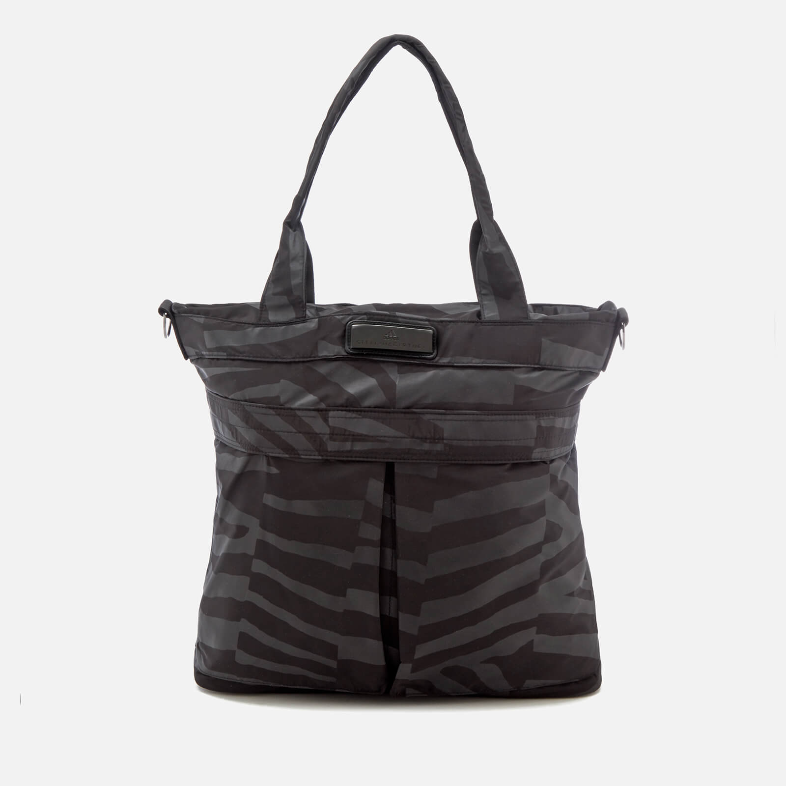 560bfa25 adidas by Stella McCartney Women's Essentials Tote Bag - Black/Gun Metal/ White - Free UK Delivery over £50