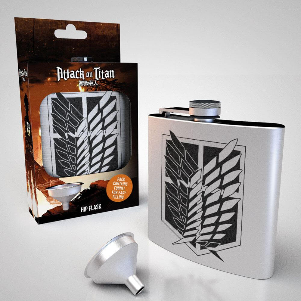 Attack on Titan Scout Hip Flask