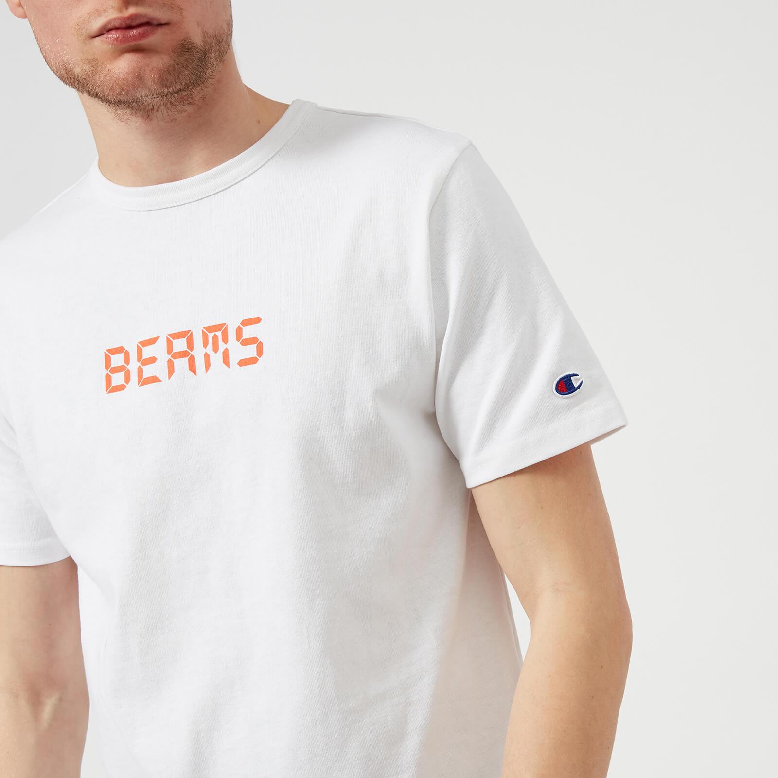 Champion X Beams Men's Beams Logo T-Shirt - White