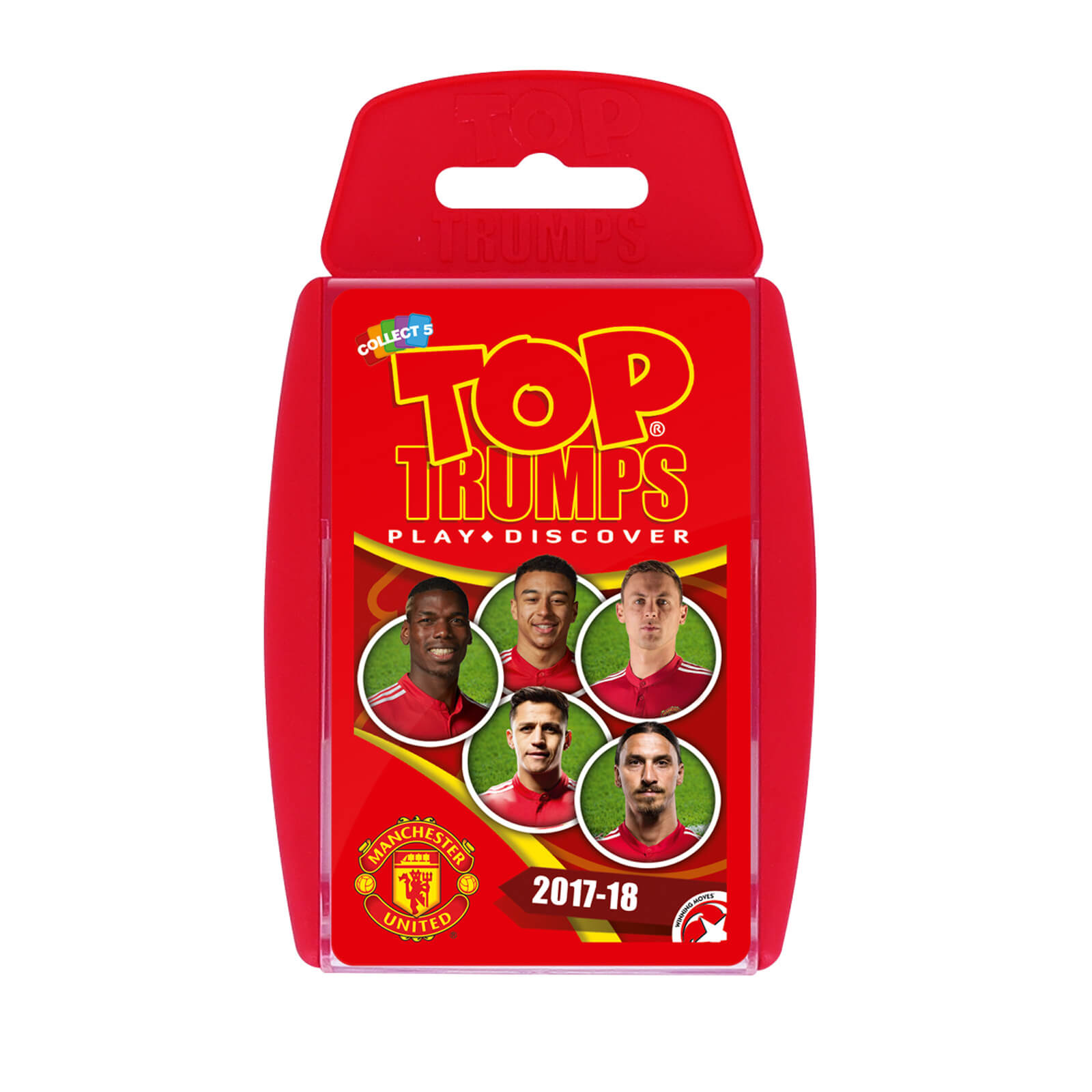Top Trumps - Manchester United 2017/18
