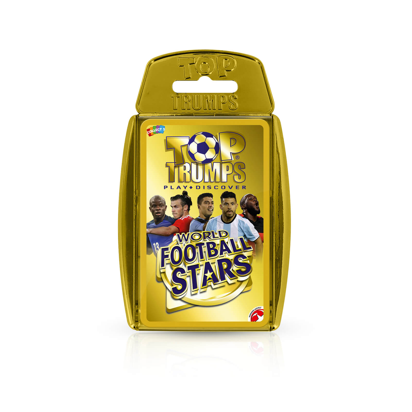 Top Trumps - Premium - World Football Stars in Gold Case