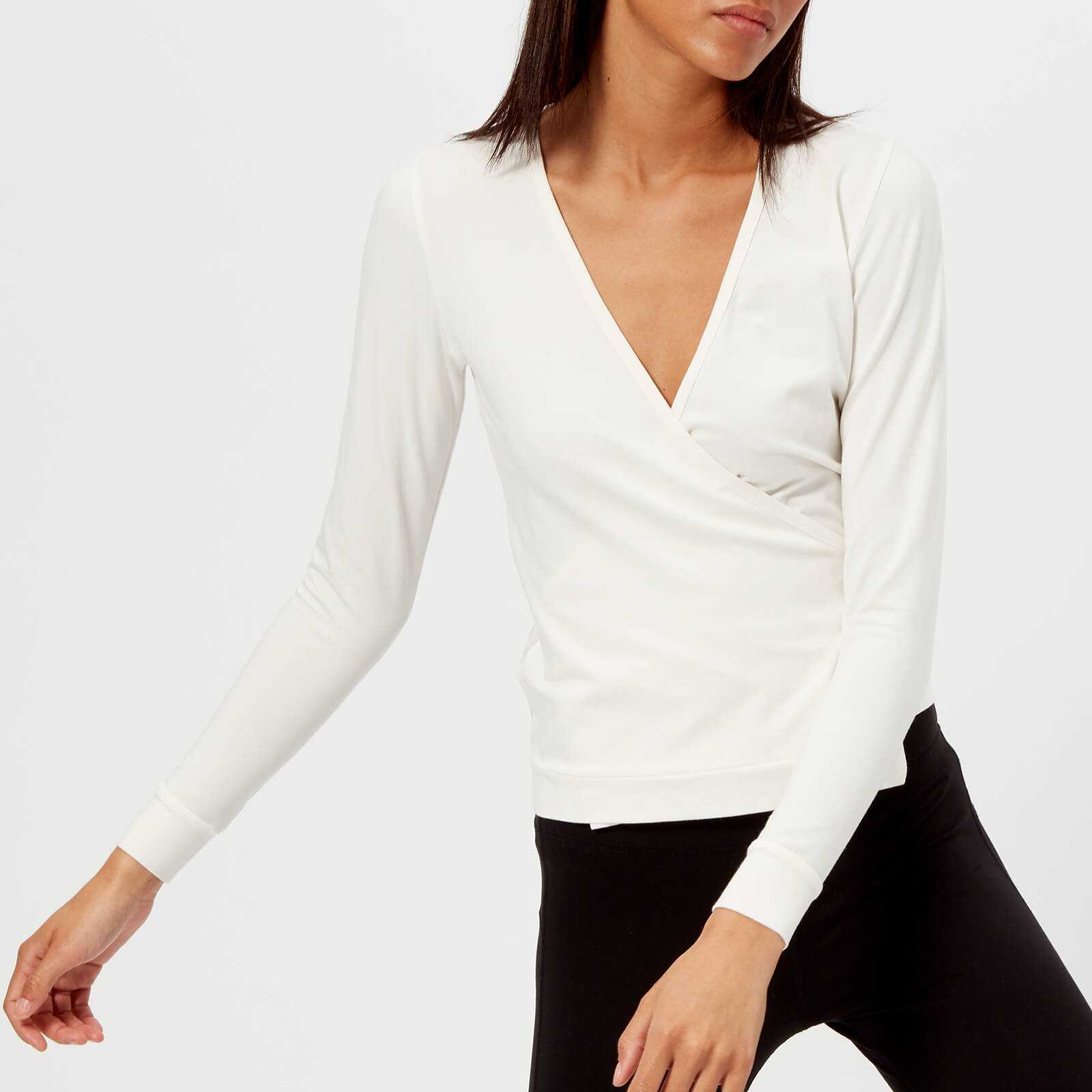 Pepper   Mayne Women s Cotton Ballet Wrap Cardigan - Ivory - Free UK  Delivery over £50 01f140b99