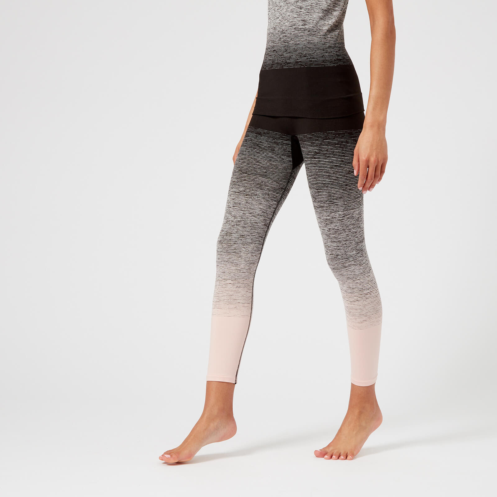 85103a7ed Pepper   Mayne Women s Ombre Compression 3 4 Leggings - Backstage Blush -  Free UK Delivery over £50