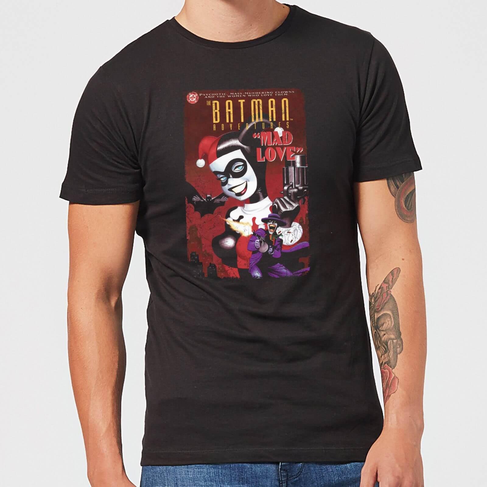 f8f56bf450d9 DC Comics Batman Harley Mad Love T-Shirt - Black Clothing | Zavvi