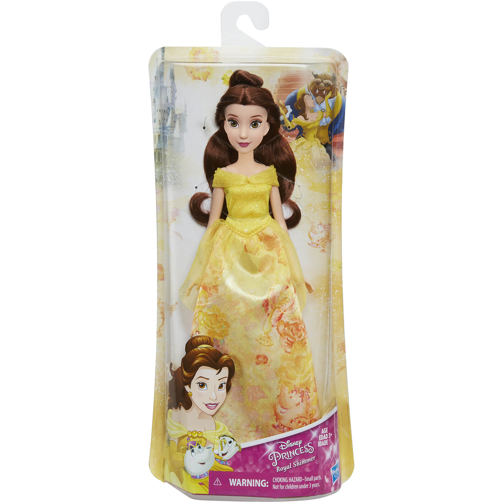 Disney Princess Belle Royal Shimmer Fashion Doll