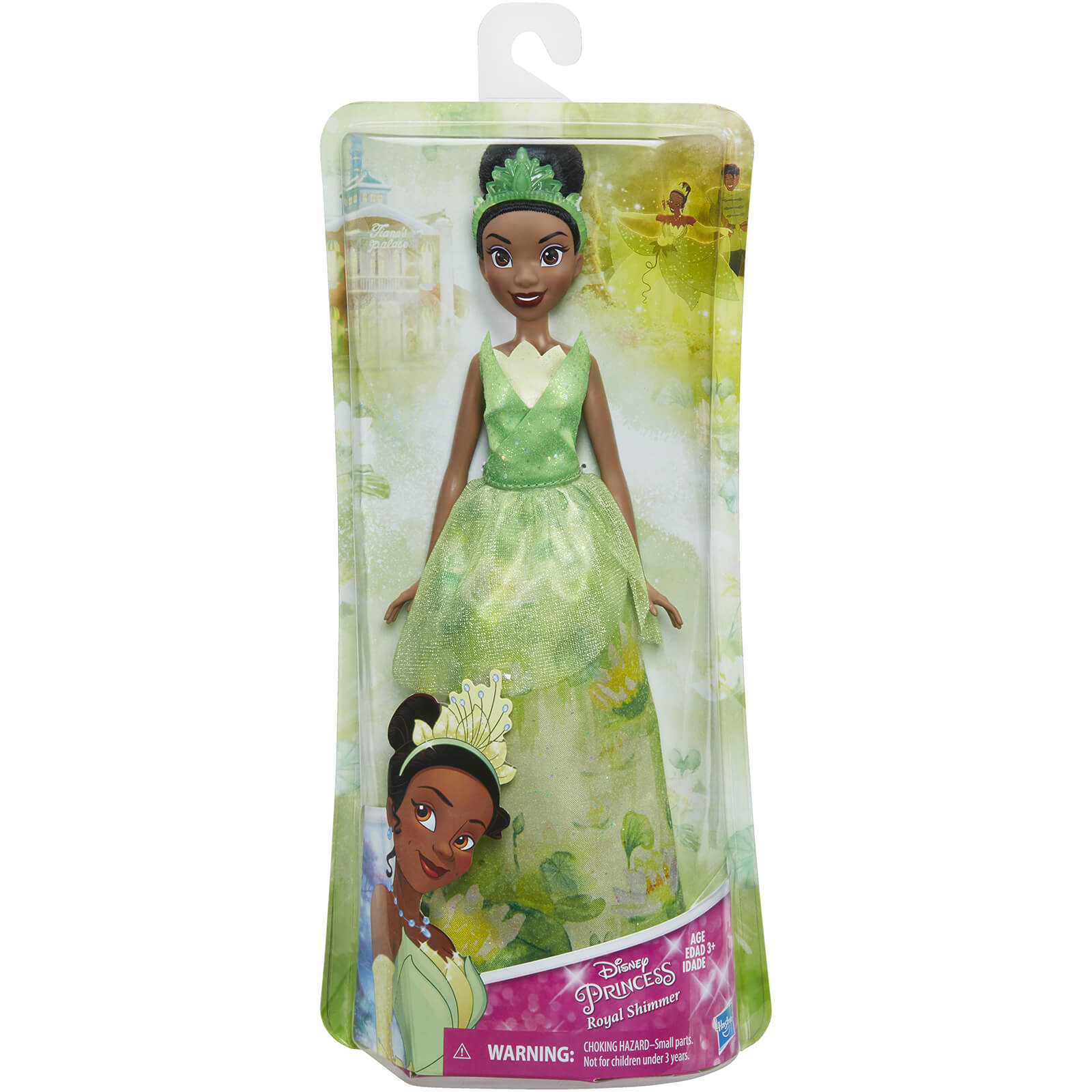 Disney Princess Tiana Royal Shimmer Fashion Doll