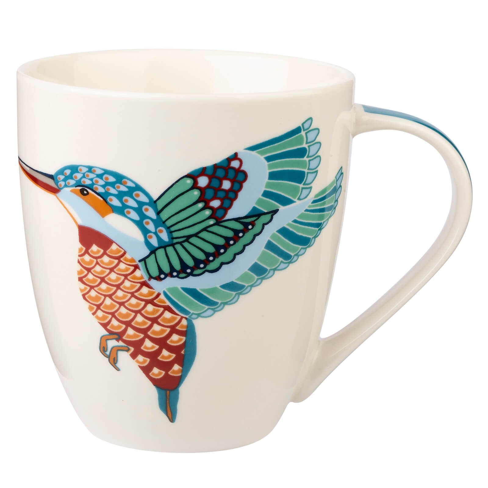 Couture Paradise Birds Kingfisher Mug