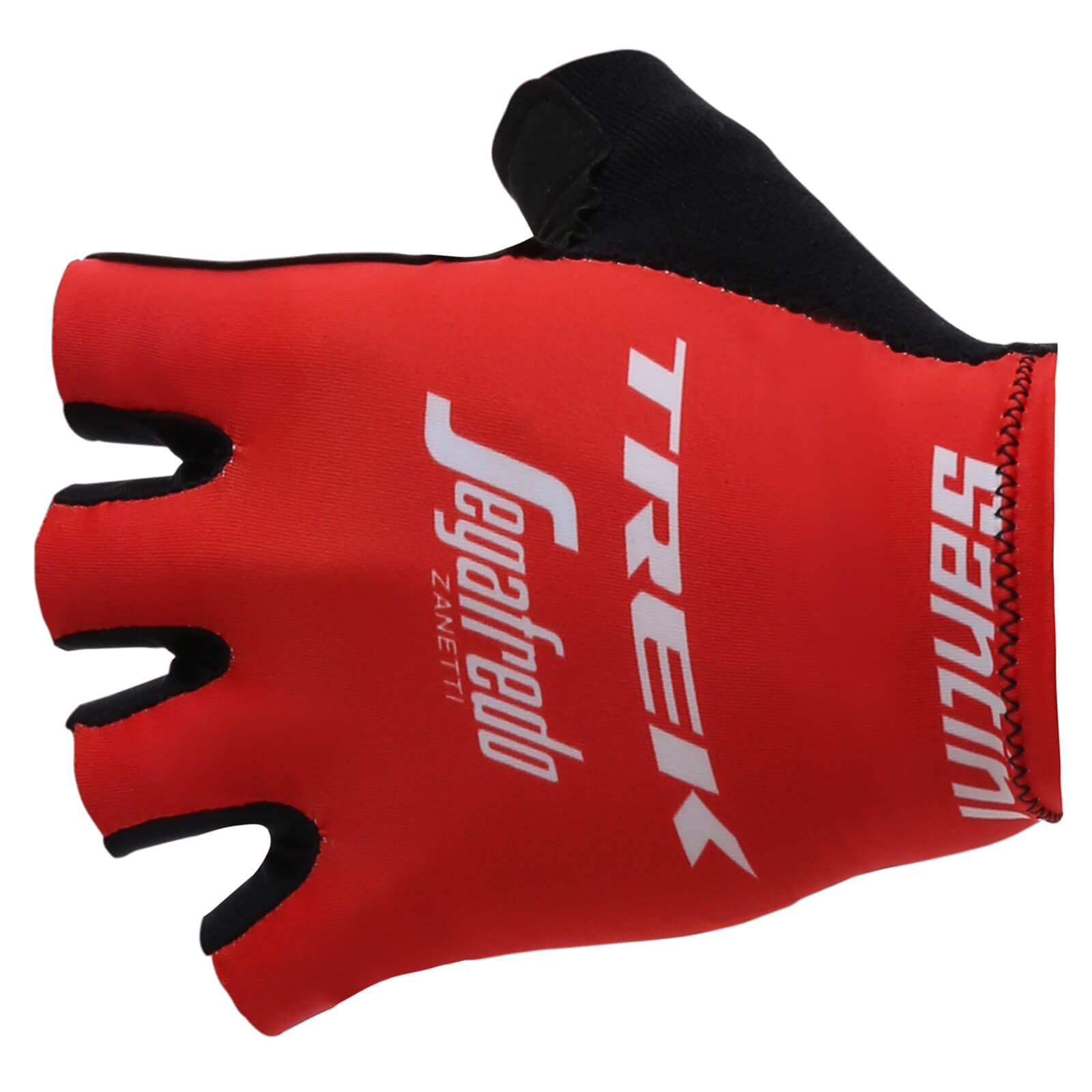 Santini Trek-Segafredo 18 Race Replica Gloves - Red