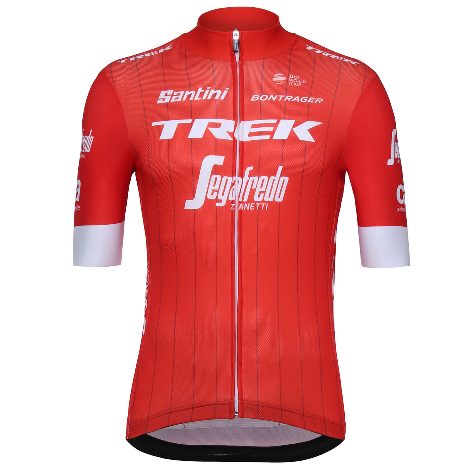 Santini Trek-Segafredo 18 Blend Replica Jersey - Red  7f1a1482f