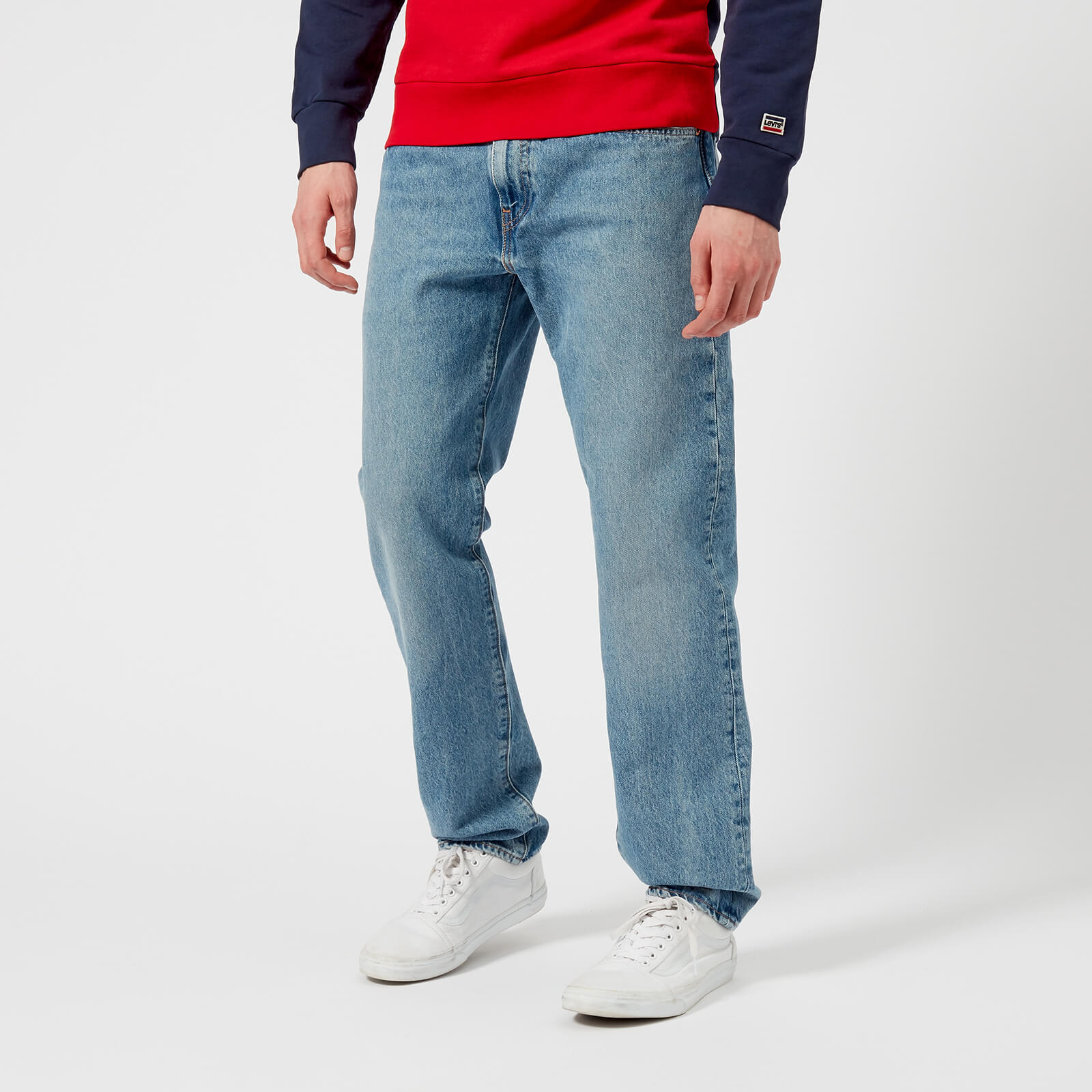 826e472353a Levi's Men's 502 Regular Tapered Jeans - Swaggu Warp - Free UK Delivery  over £50