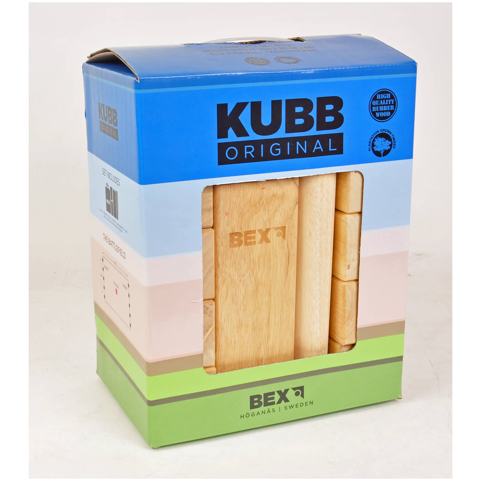 Gamesson Sport Kubb Original Red King Game
