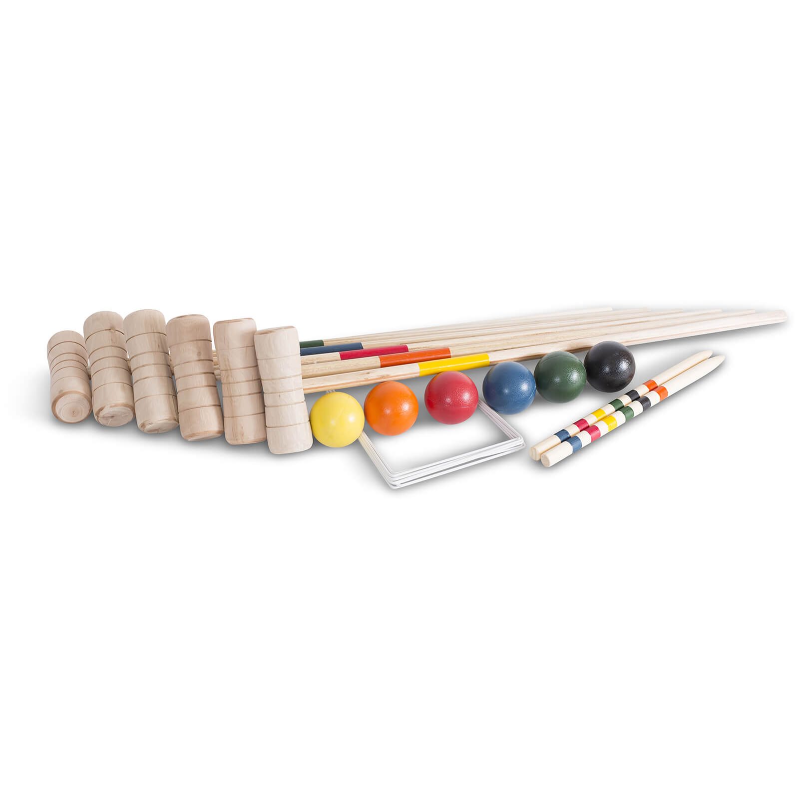 BEX 6 Mallet Family Croquet Set