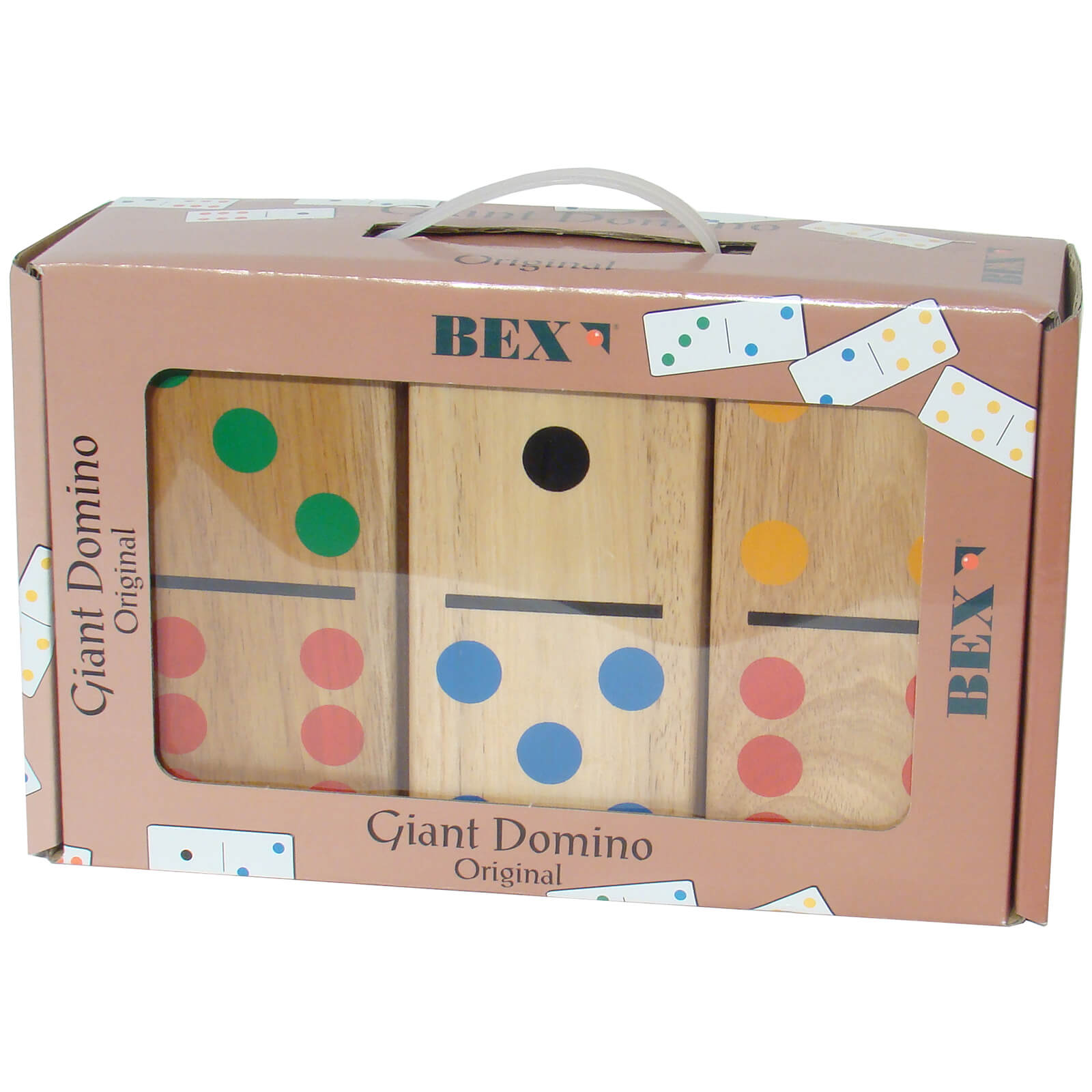 Gamesson Sport Giant Dominoes - Indoor and Outdoor Game