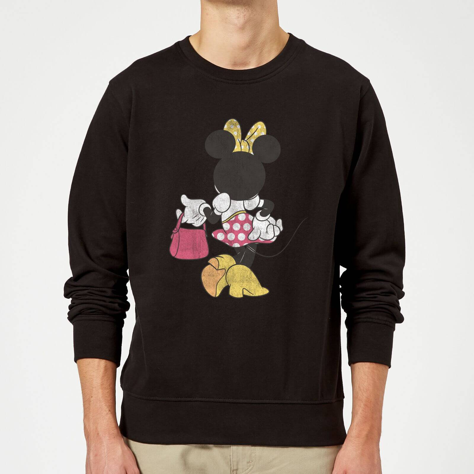 4c2d064c32 Disney Mickey Mouse Minnie Mouse Back Pose Pullover - Grau | Pop In A Box DE