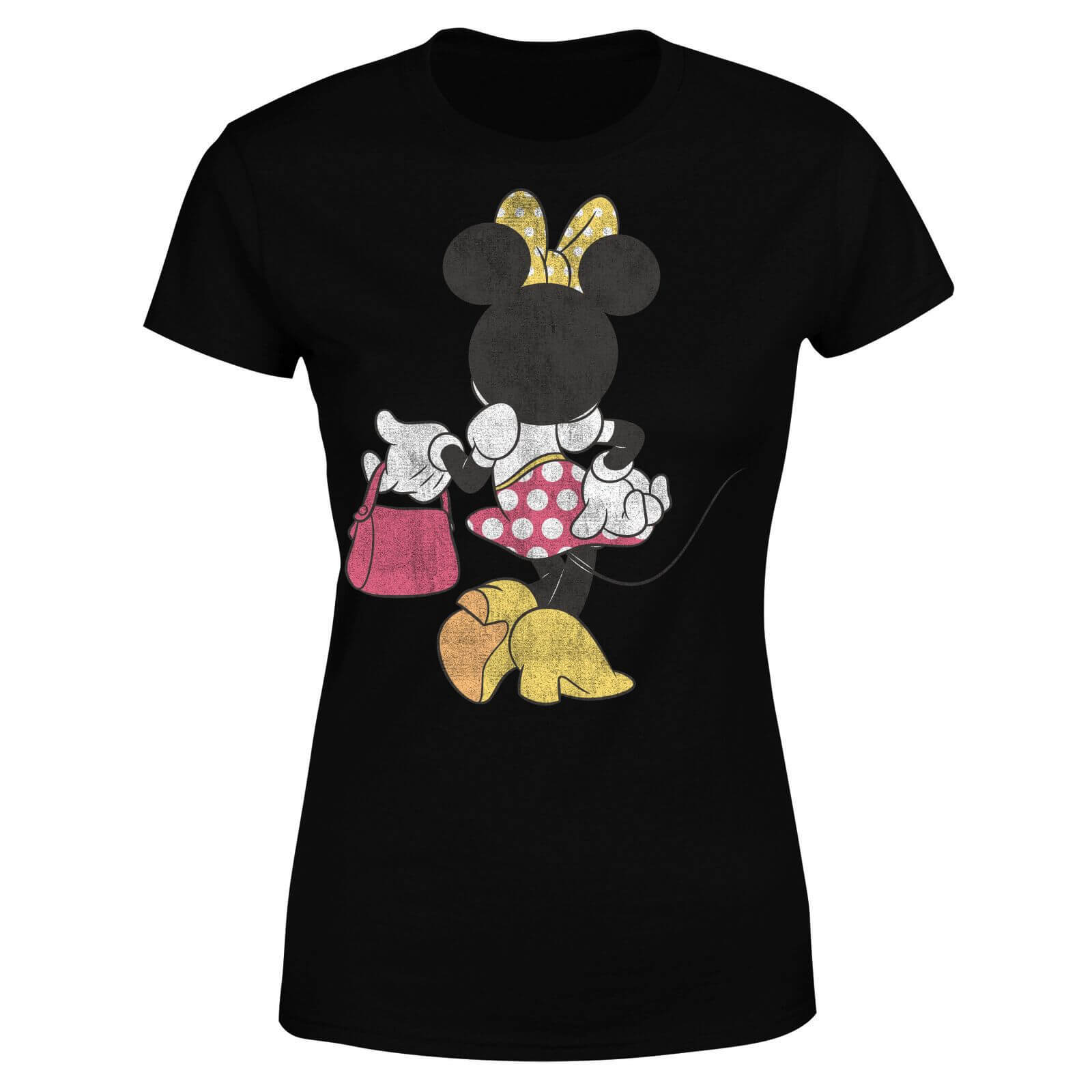 Disney Mickey Mouse Minnie Mouse Back Pose Women