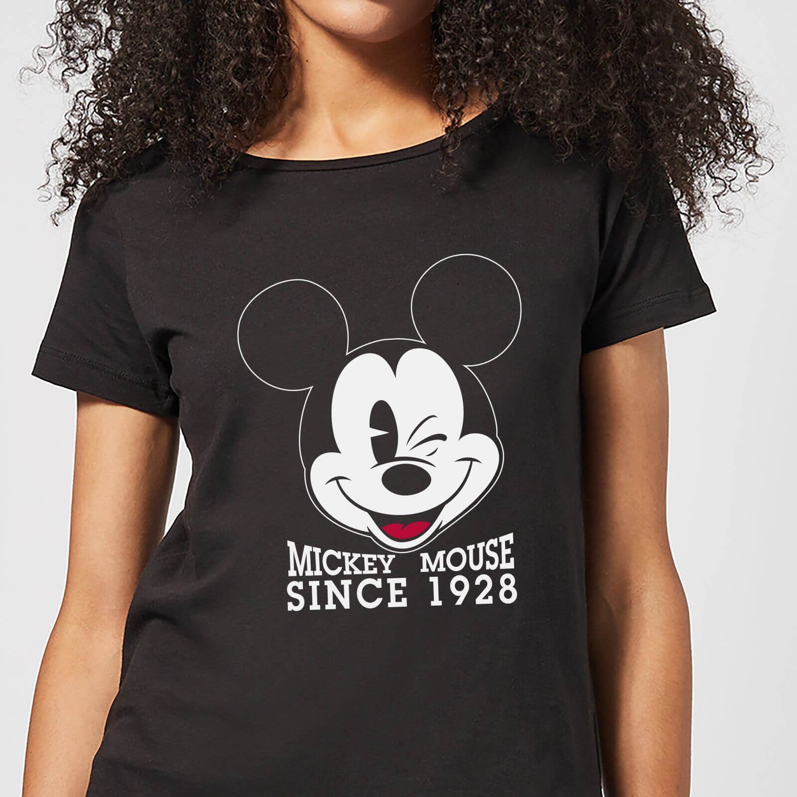 Disney Mickey Mouse Since 1928 Womens T Shirt