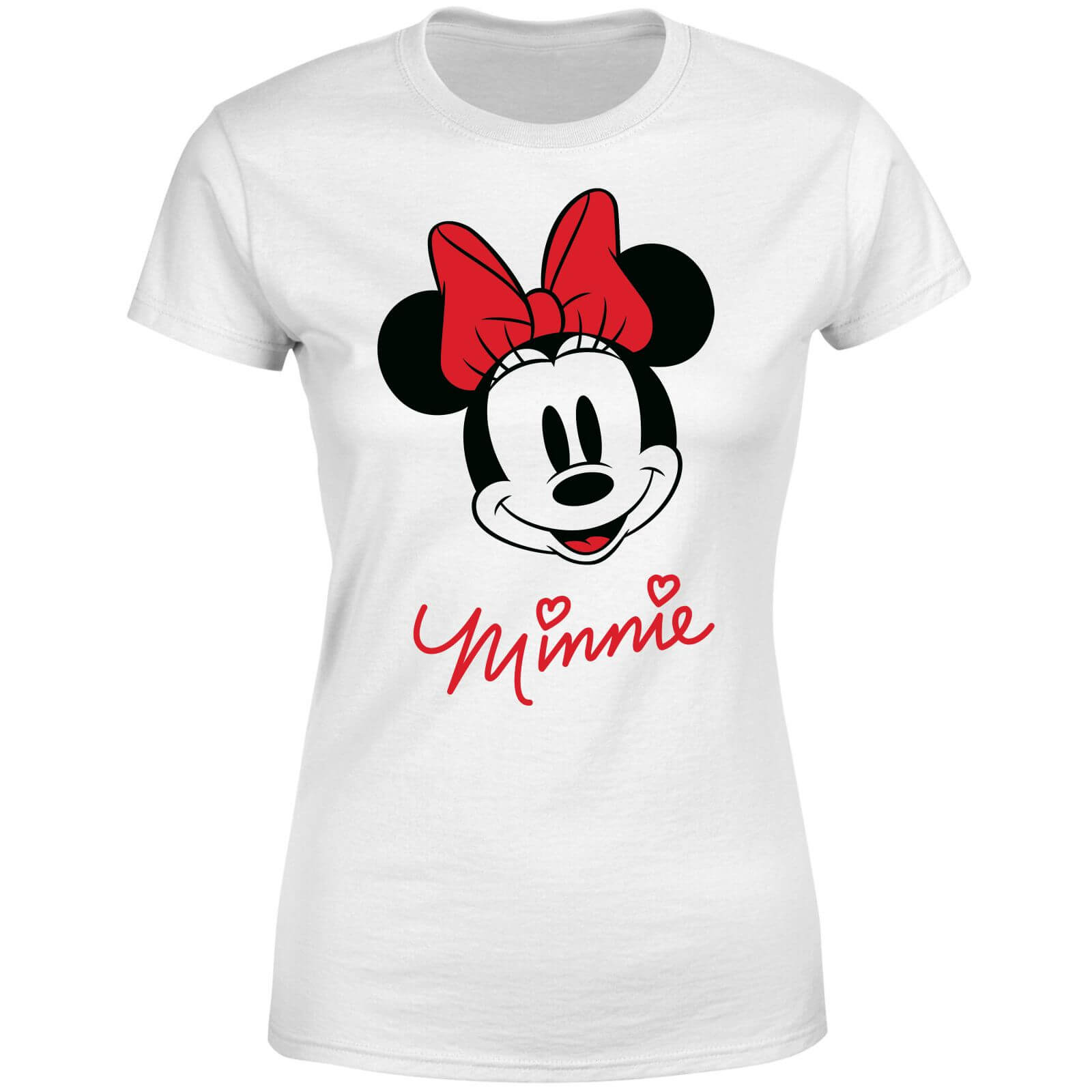 Disney Mickey Mouse Minnie Face Women