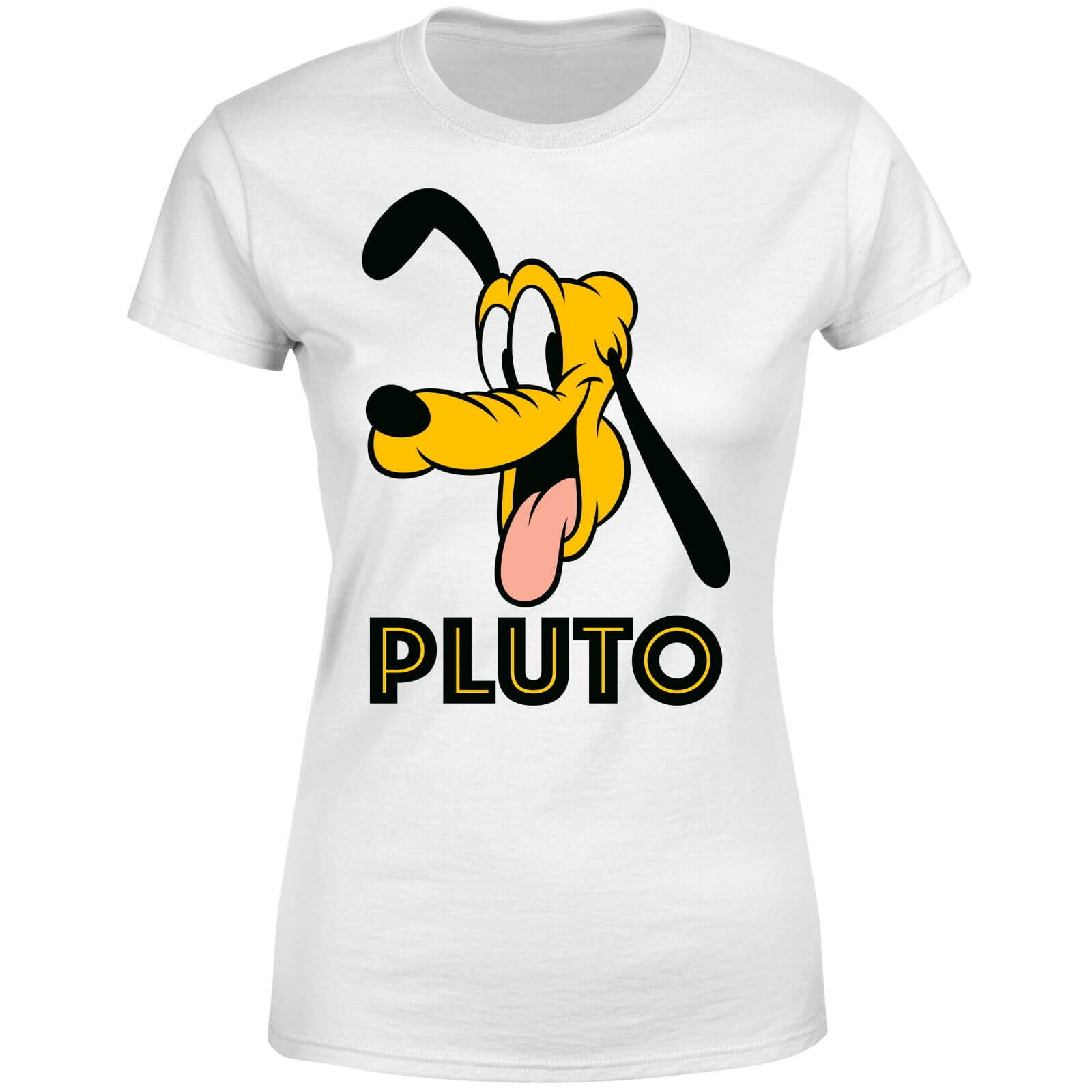 Disney Mickey Mouse Pluto Face Women