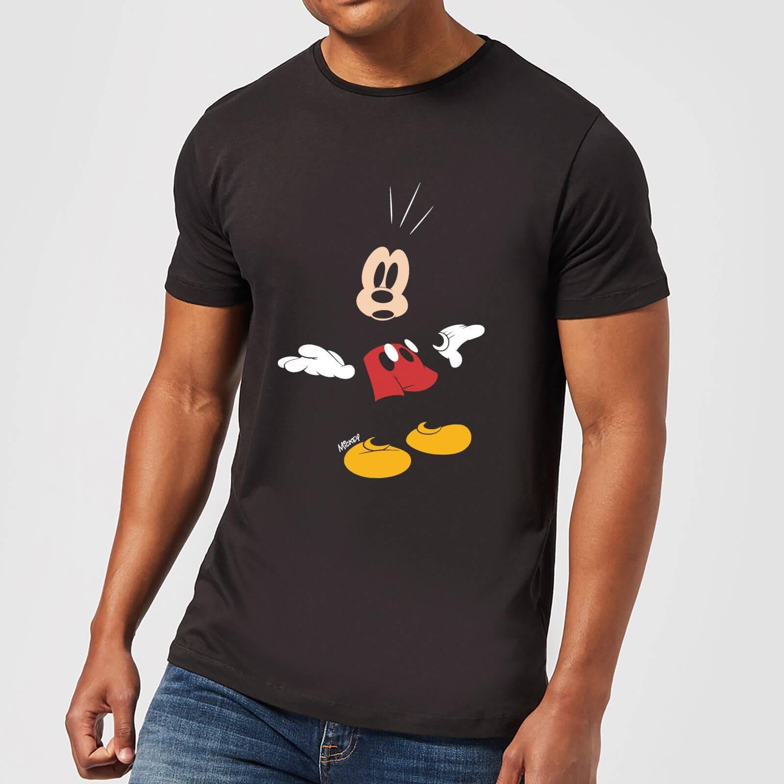 c4032902 Disney Mickey Mouse Surprised T-Shirt - Black | IWOOT
