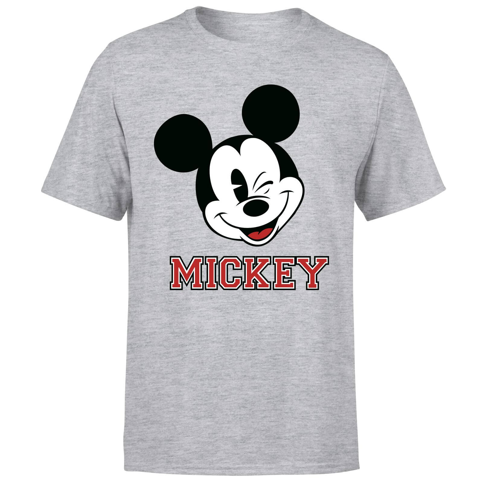 Disney Mickey Mouse Since 1928 T-Shirt - Grey