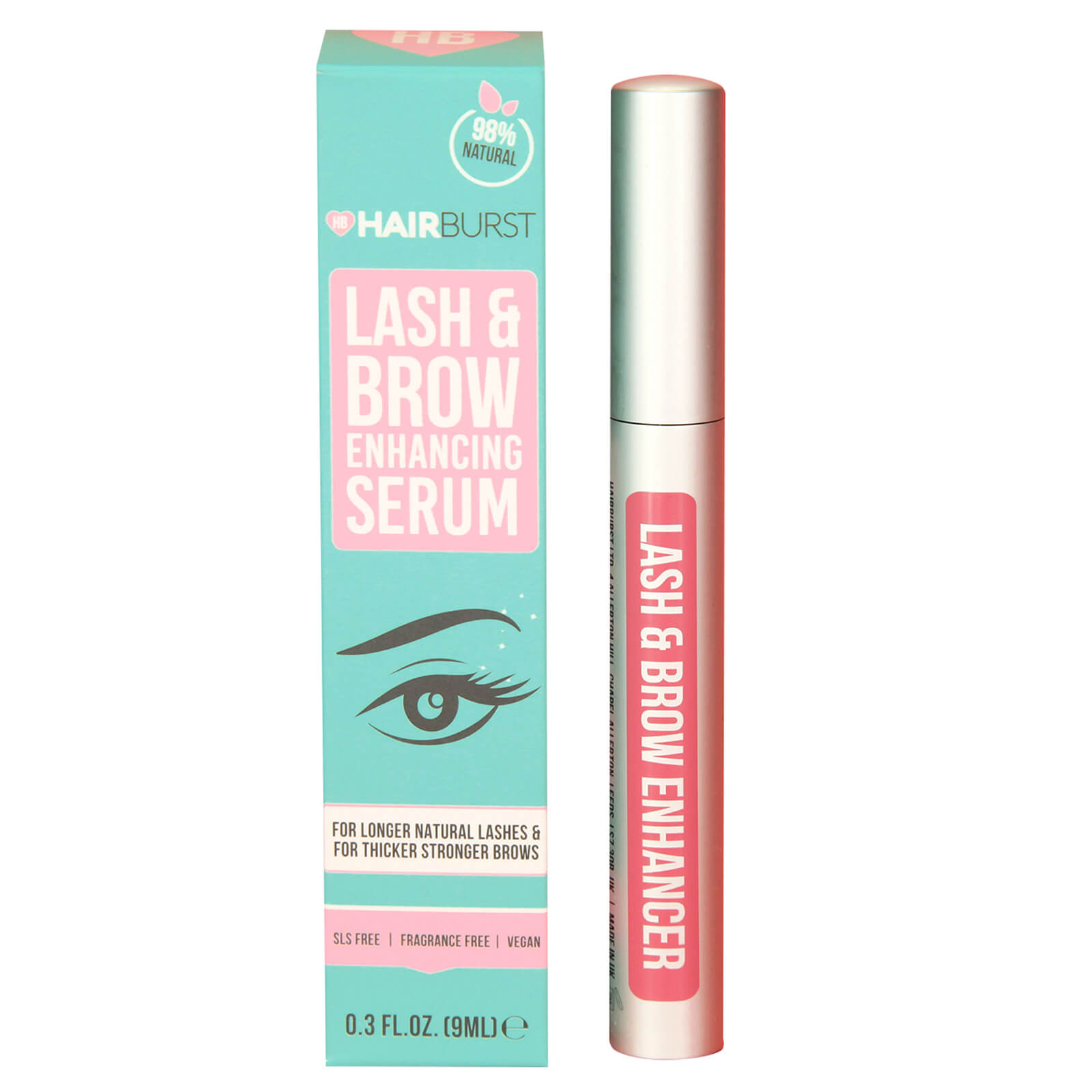 c21e72e14d9 Hairburst Lash and Brow Serum | Free Shipping | Lookfantastic