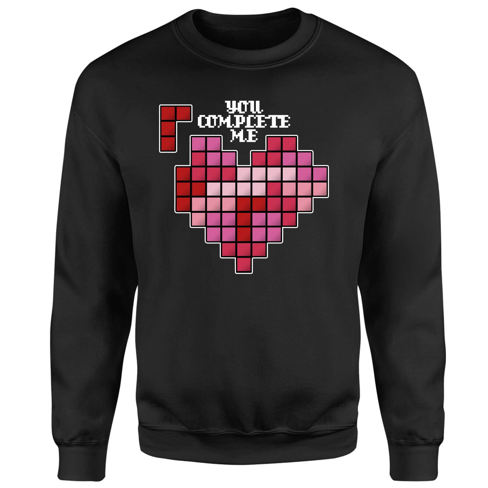 You Complete Me Sweatshirt - Black