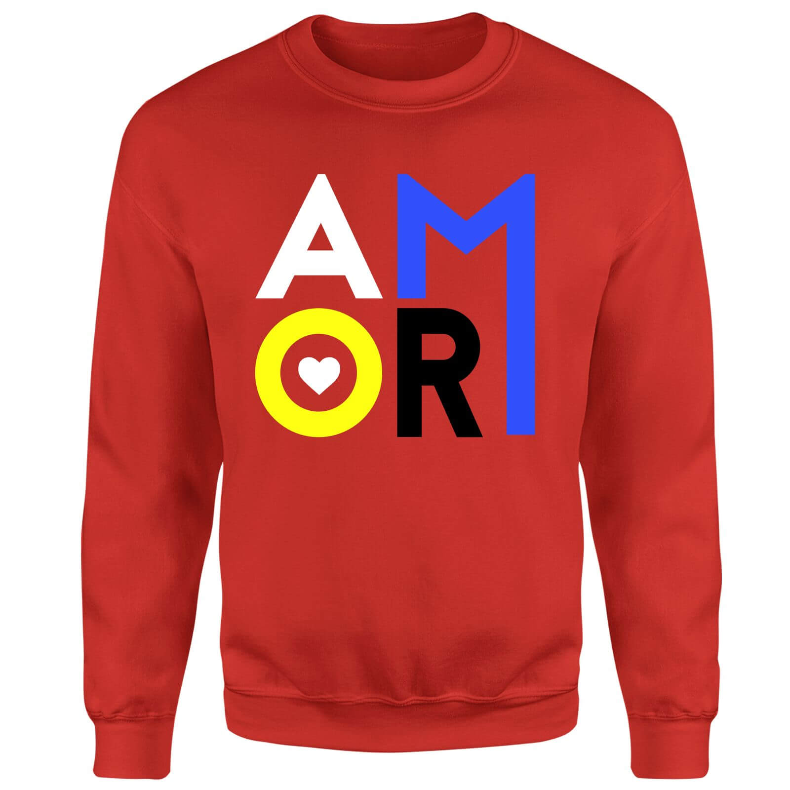Amor Sweatshirt - Red