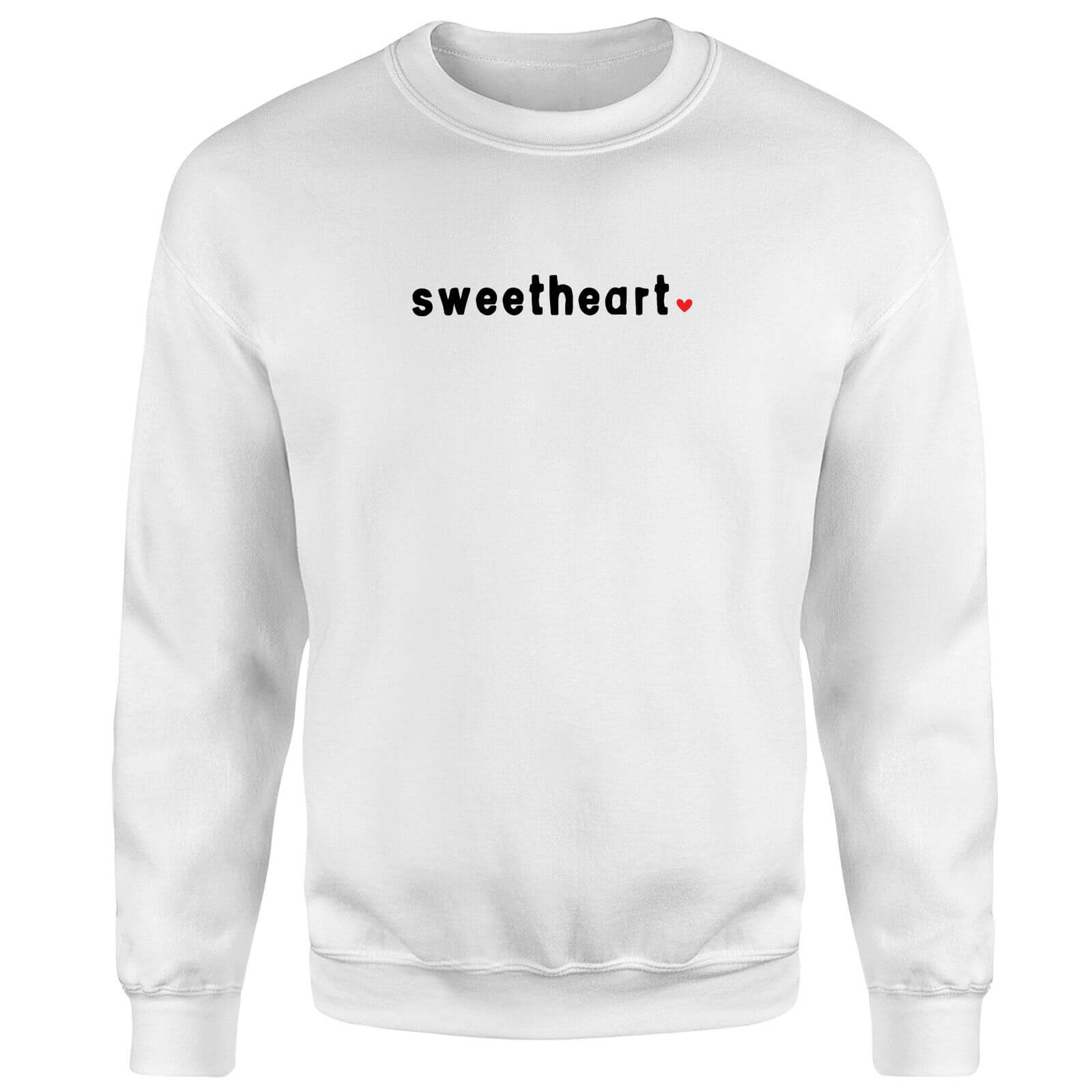 Sweetheart Sweatshirt - White