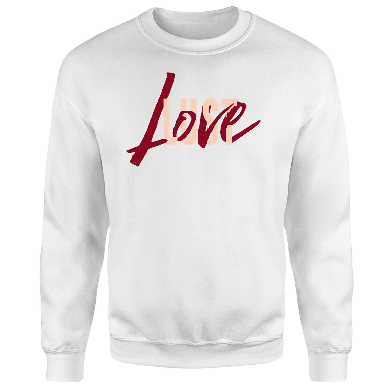 Love & Lust Sweatshirt - White