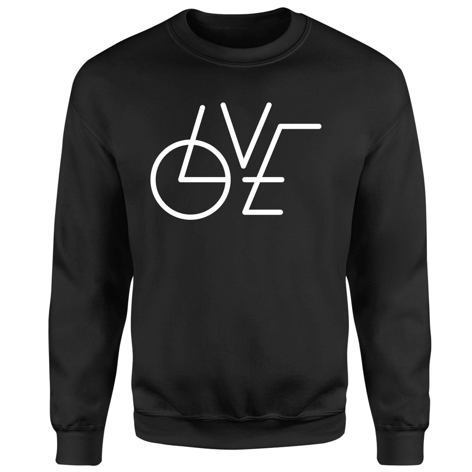 LOVE Modern Sweatshirt - Black