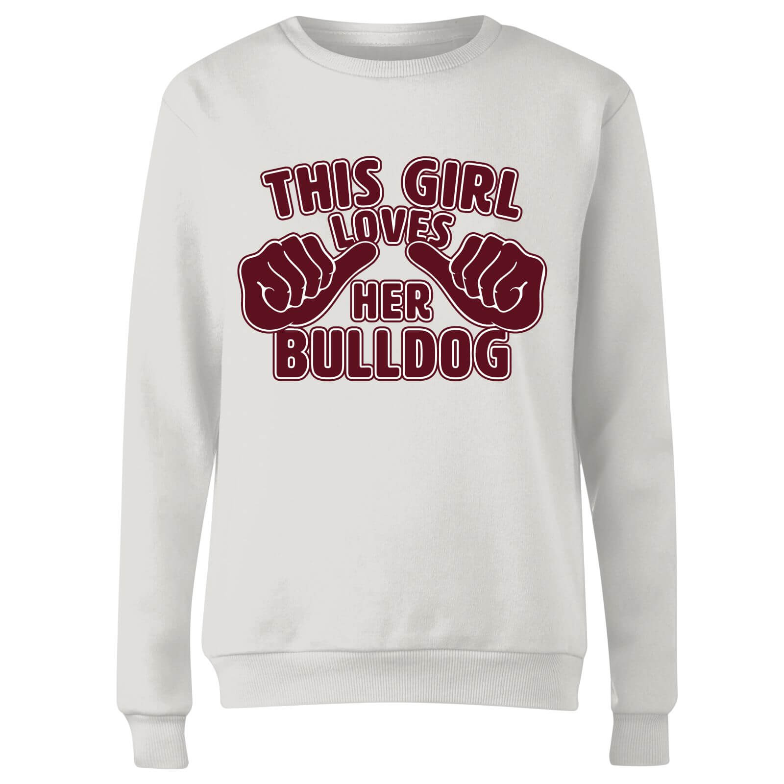 This Girl Loves Her Bulldog Women