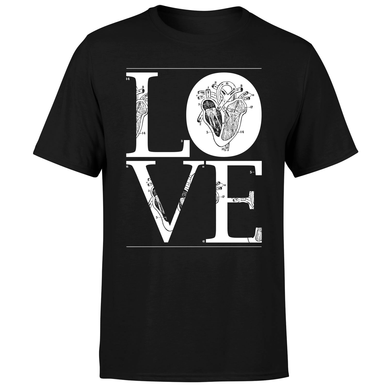 Anatomic Love T-Shirt - Black