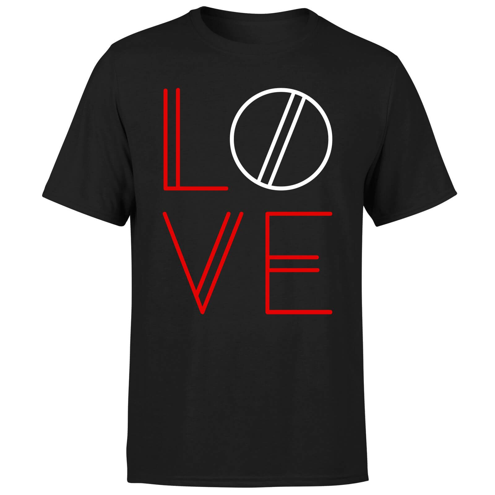 Love Geo T-Shirt - Black